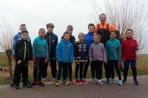 kids en welpen training hardlopen in Huizen